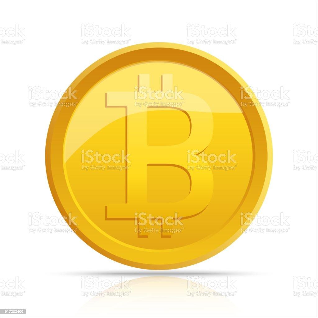 Virtuelle Symbol Bitcoin Auf Elektronische Schaltung Hintergrund ...
