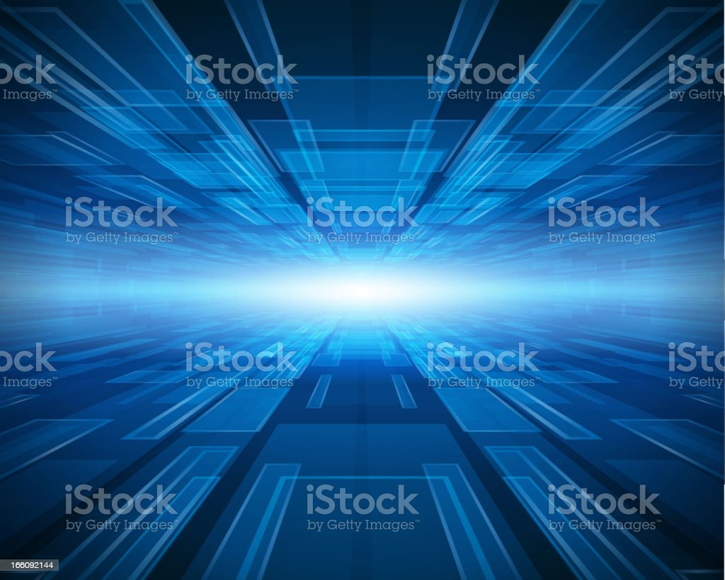 Virtual technology vector background. Eps 10 illustration contains...