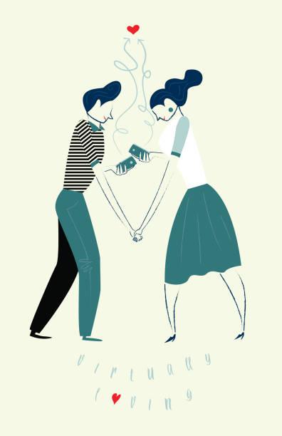 virtually loving - romance stock illustrations, clip art, cartoons, & icons