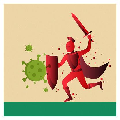 Virus and knight