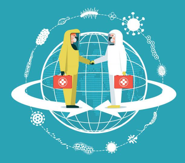 ilustraciones, imágenes clip art, dibujos animados e iconos de stock de protección antivirus - covid vaccine