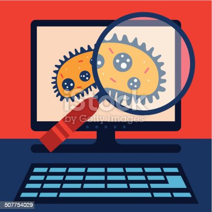 Protect your precious file with a virus search!