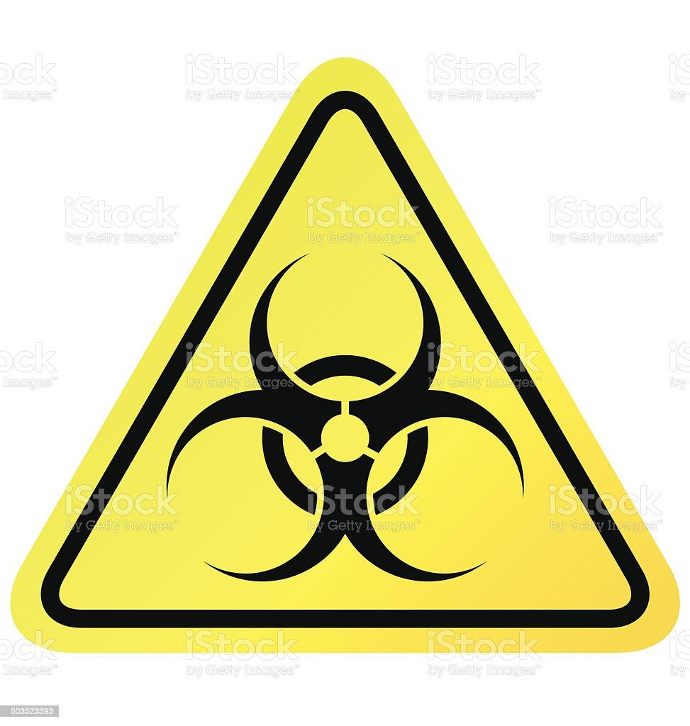 Virus sign vector vector art illustration