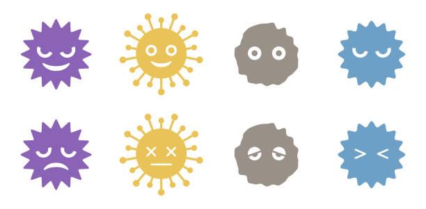 ウイルス - 花粉点のイラスト素材/クリップアート素材/マンガ素材/アイコン素材