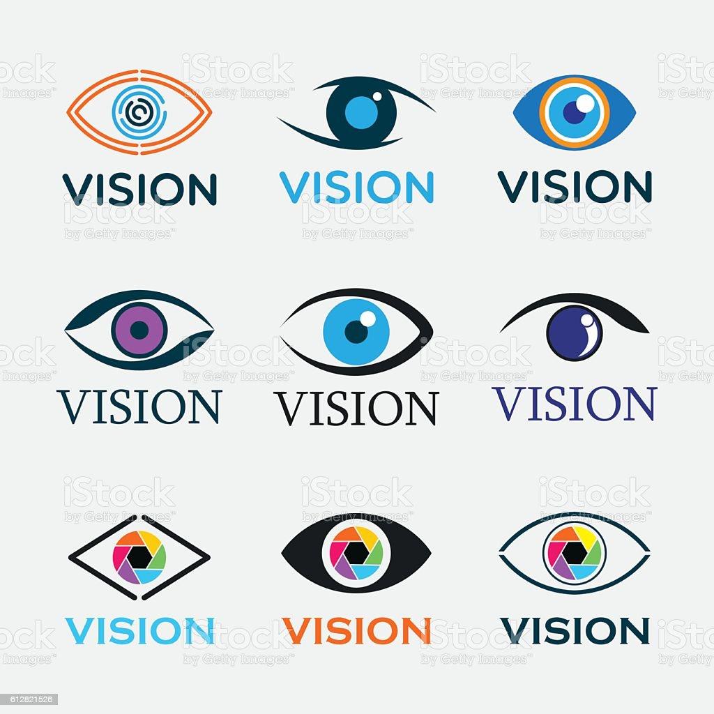 Vision Icons – Vektorgrafik