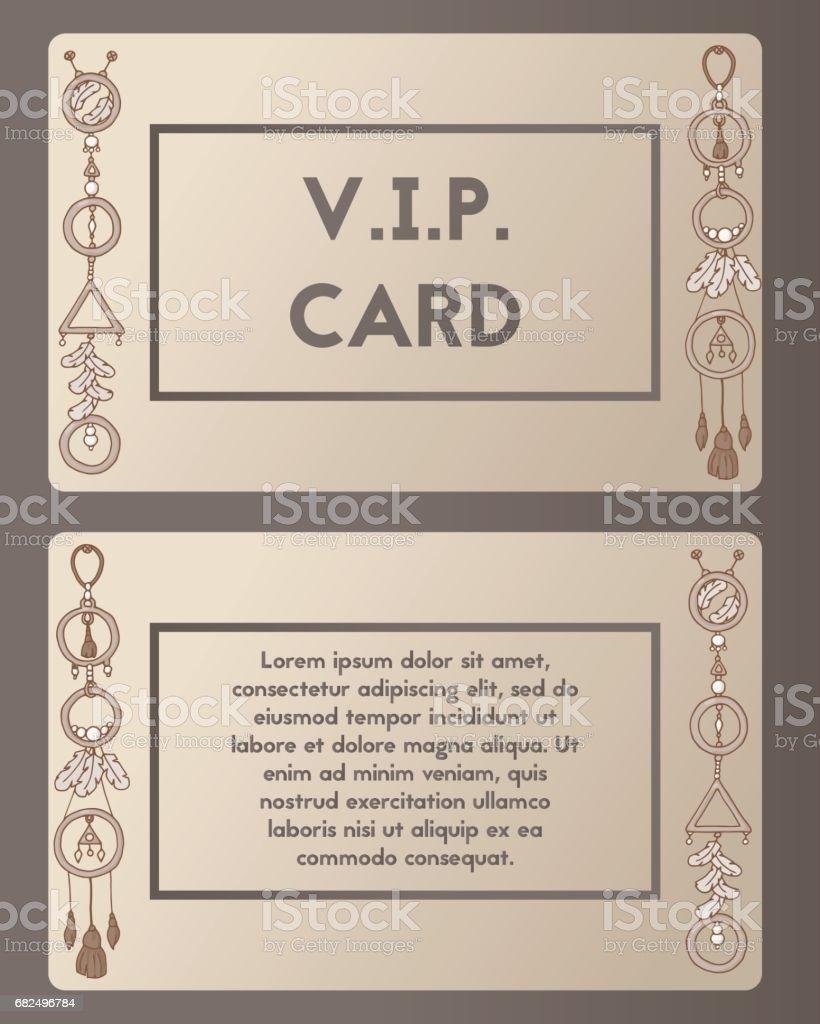 Visiting card. Cutaway boho style. visiting card cutaway boho style — стоковая векторная графика и другие изображения на тему contact us - английское словосочетание Стоковая фотография