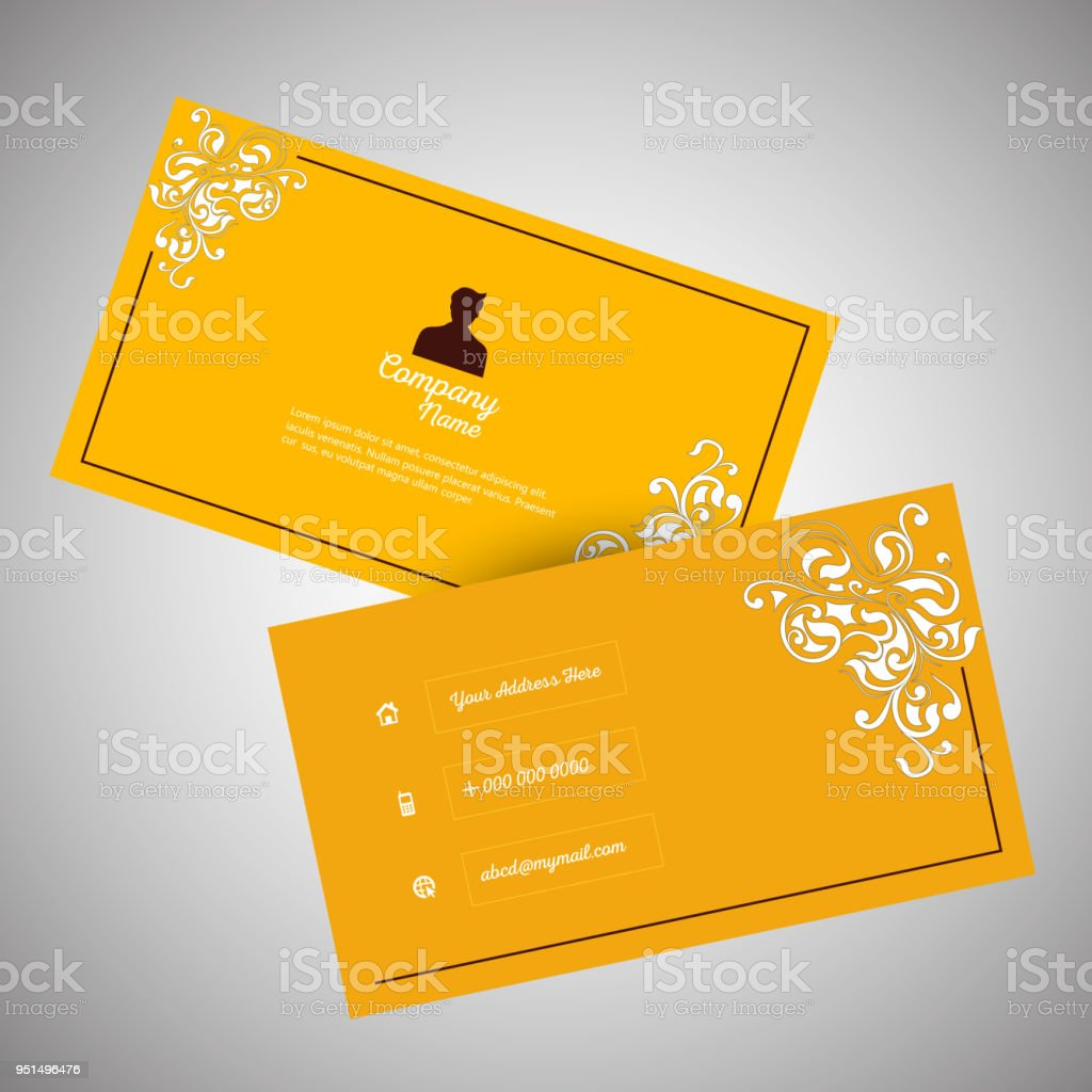 Visiting card design stock vector art more images of abstract visiting card design royalty free visiting card design stock vector art amp more images reheart Choice Image
