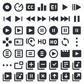 Visual Media icons set 1 | 49ers Series