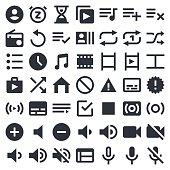 Visual Media icons set 2 | 49ers Series