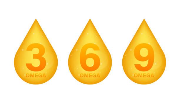 bildbanksillustrationer, clip art samt tecknat material och ikoner med symbol för vitamin a-guld. retinol vitamin droppe piller kapsel. lysande gyllene essens droplet. skönhetsbehandling nutrition hudvård design. vektor illustration - omega 3