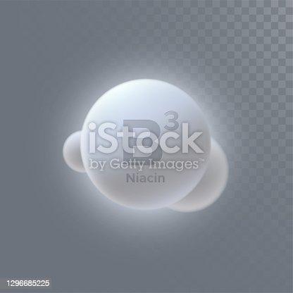 istock Vitamin B3 icon 1296685225