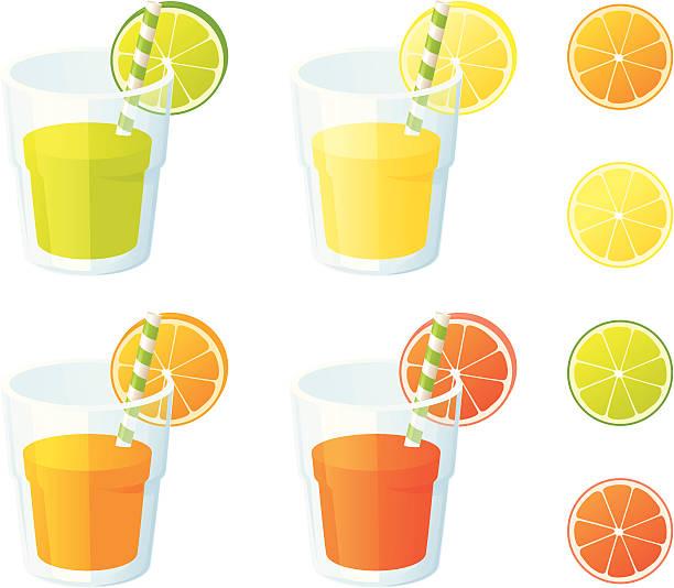 Vitamin Cs - incl. jpeg vector art illustration