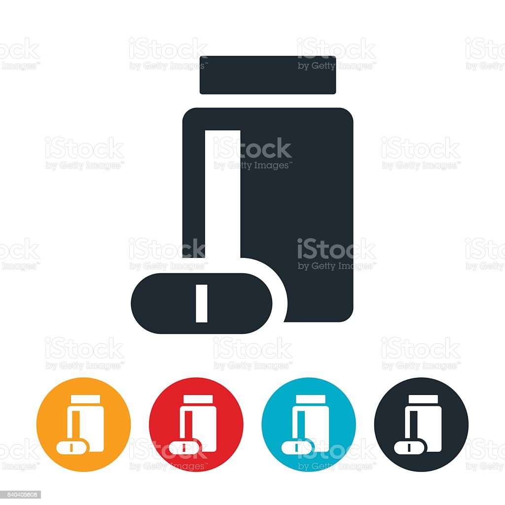 Vitamins Icon vector art illustration