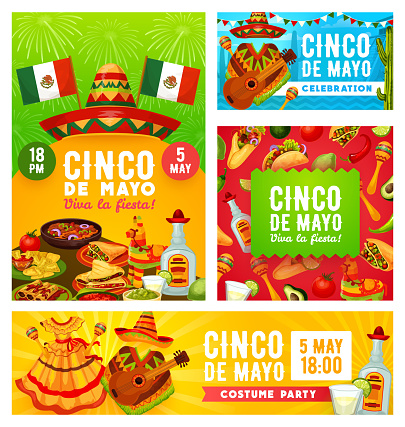 Viva Mexican Cinco de Mayo, Mexico holiday party