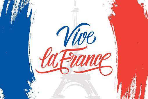 VIVE LA FRANCE Framed Art Print by axelle1410   Framed art