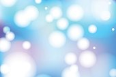 Vivid bokeh in soft color. Background with highlights. vector
