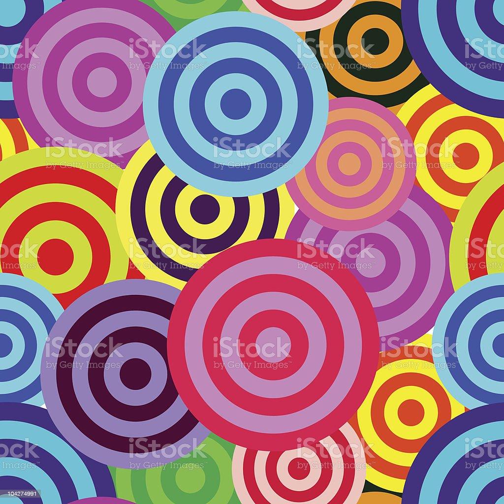 Vivid seamless pattern royalty-free stock vector art