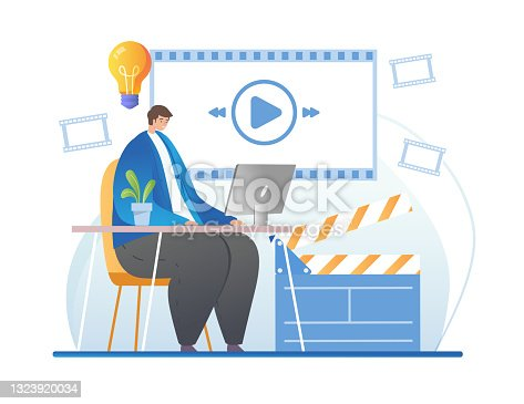 istock Vlogger or blogger realize creative idea 1323920034