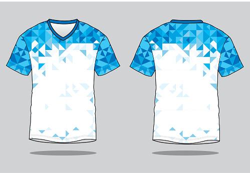 V-Neck Shirt Design Vector