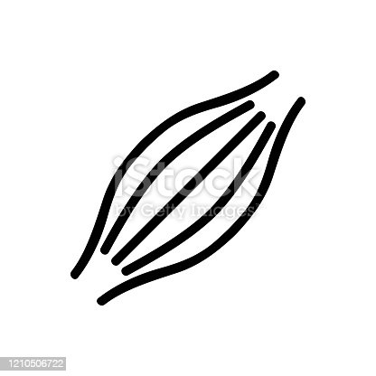 istock vocal vector . Isolated contour symbol illustration 1210506722