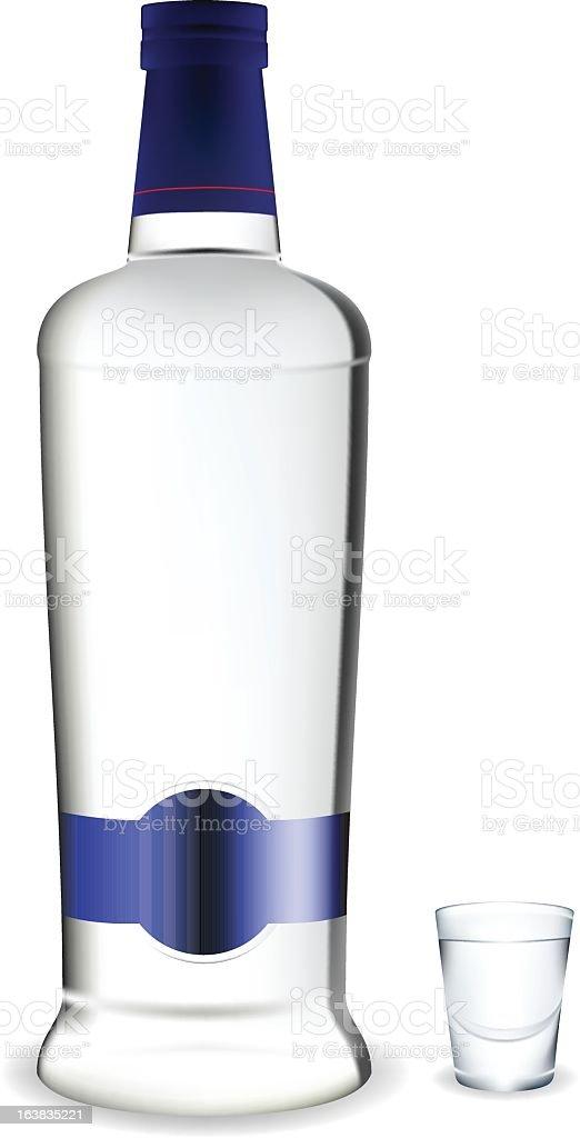Vodka royalty-free stock vector art