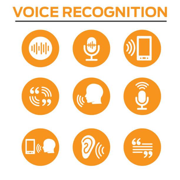 bildbanksillustrationer, clip art samt tecknat material och ikoner med voiceover eller röst befalla ikonen med ljudvågen bilder - listen