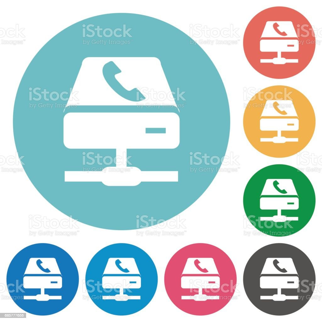 VoIP services flat icons royalty-free voip services flat icons stock vector art & more images of applying