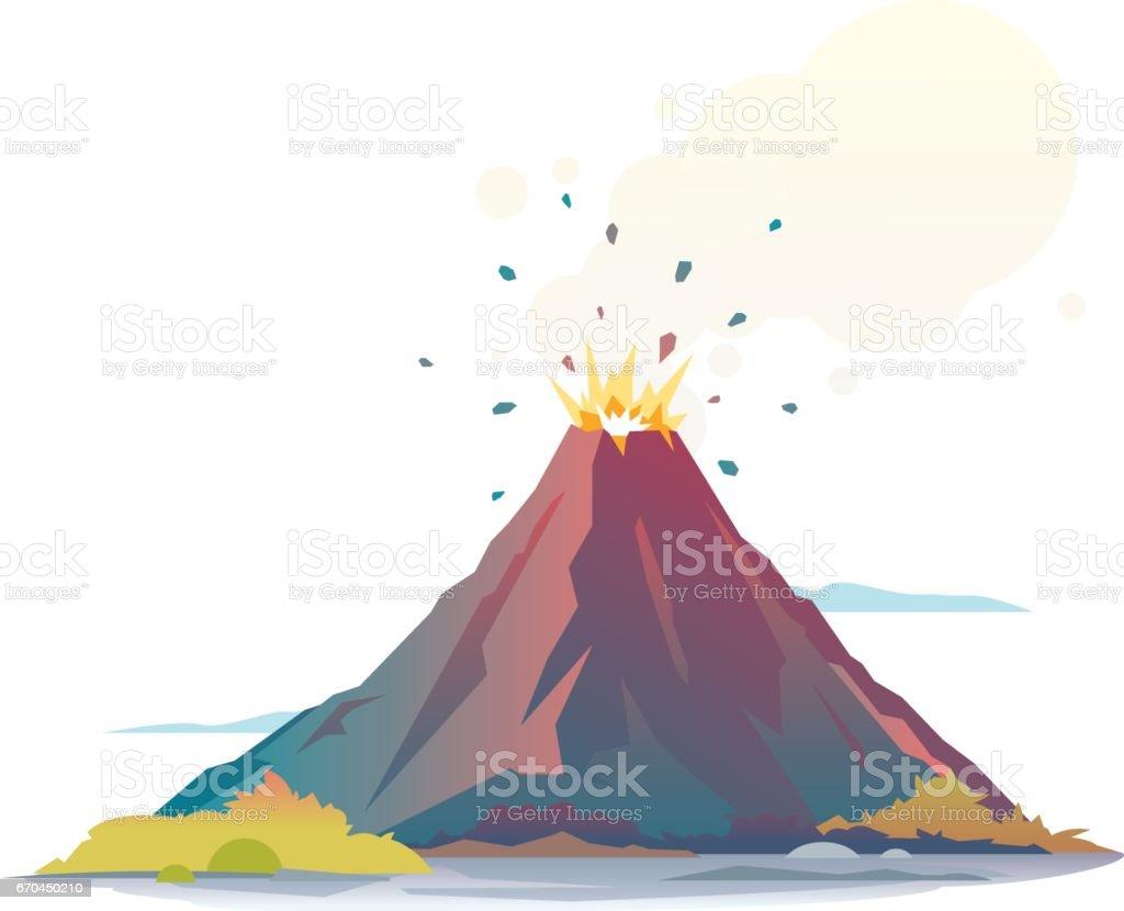 Royalty Free Volcano C...