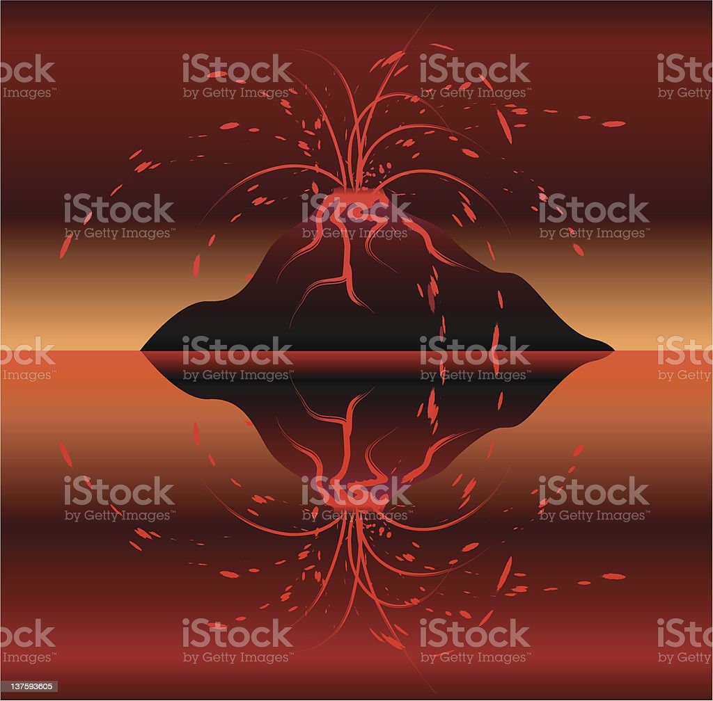 volcano royalty-free volcano stock vector art & more images of abstract