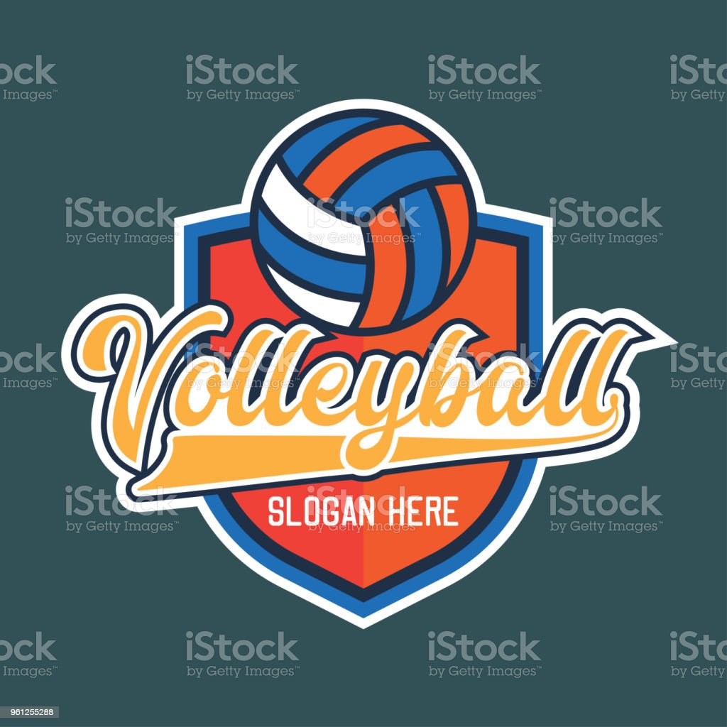 volley ball icon, vector illustration royalty-free volley ball icon vector illustration stock illustration - download image now