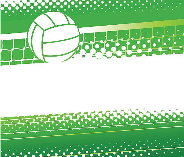illustrations, cliparts, dessins animés et icônes de fond de volley-ball - volley ball