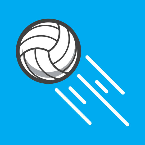 ilustrações, clipart, desenhos animados e ícones de bola de vôlei  - voleibol
