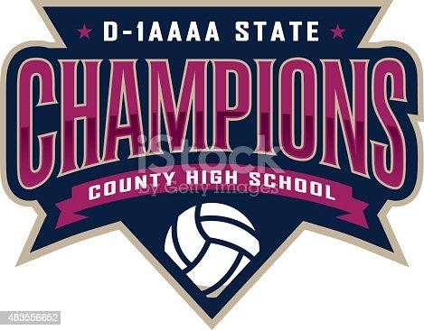 istock Volleyball Champions 483556652
