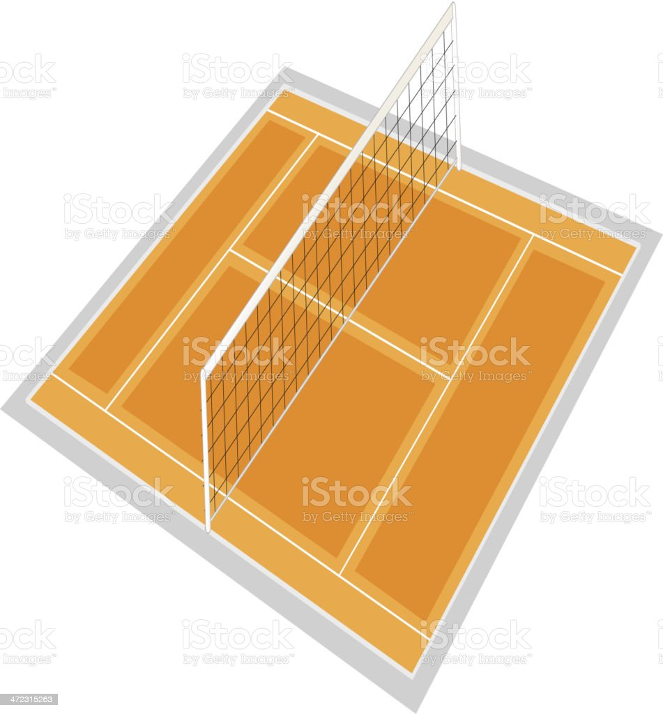 Volleyball ground royalty-free volleyball ground stock vector art & more images of activity