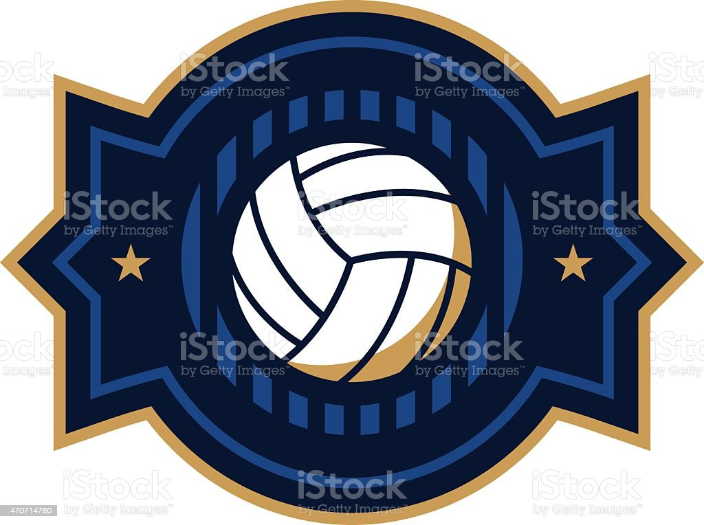 Volleyball Icon royalty-free volleyball icon stock vector art & more images of 2015