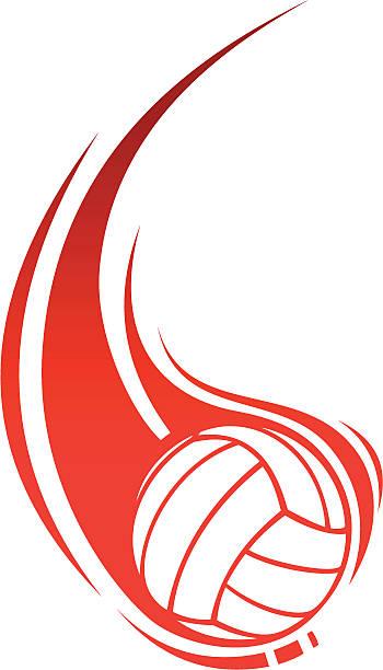 バレーボールのフレーム - バレーボール点のイラスト素材/クリップアート素材/マンガ素材/アイコン素材