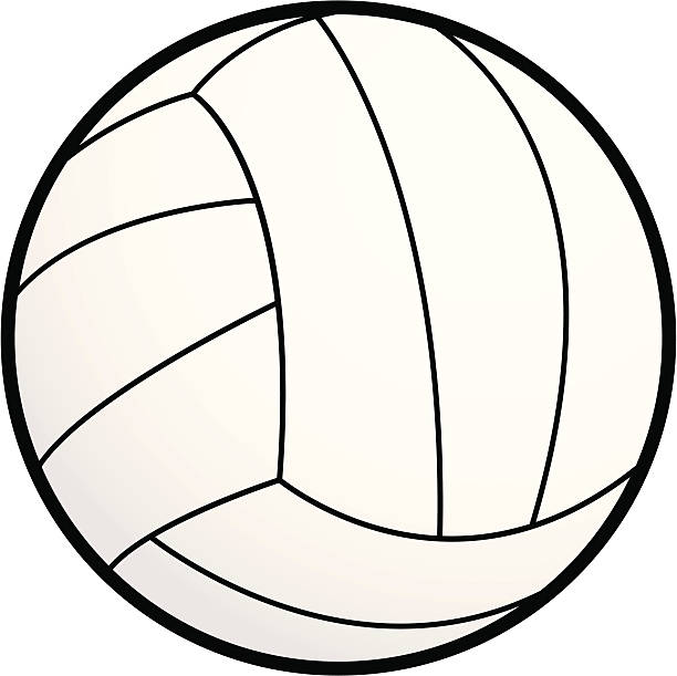 バレーボール-絶縁 - バレーボール点のイラスト素材/クリップアート素材/マンガ素材/アイコン素材