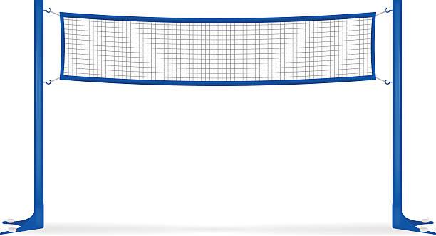 Voleibol net - ilustração de arte vetorial