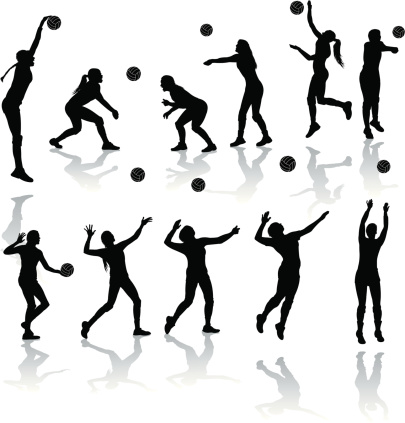 Volleyball Players - Girls