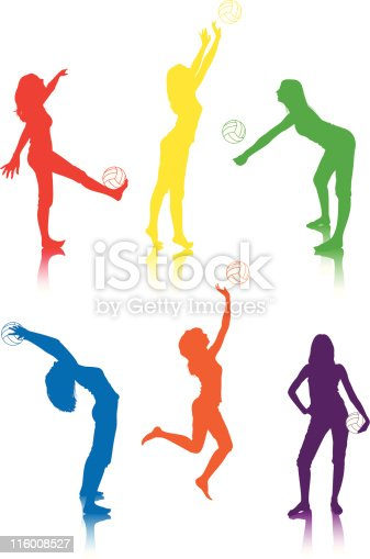 volleyball poses