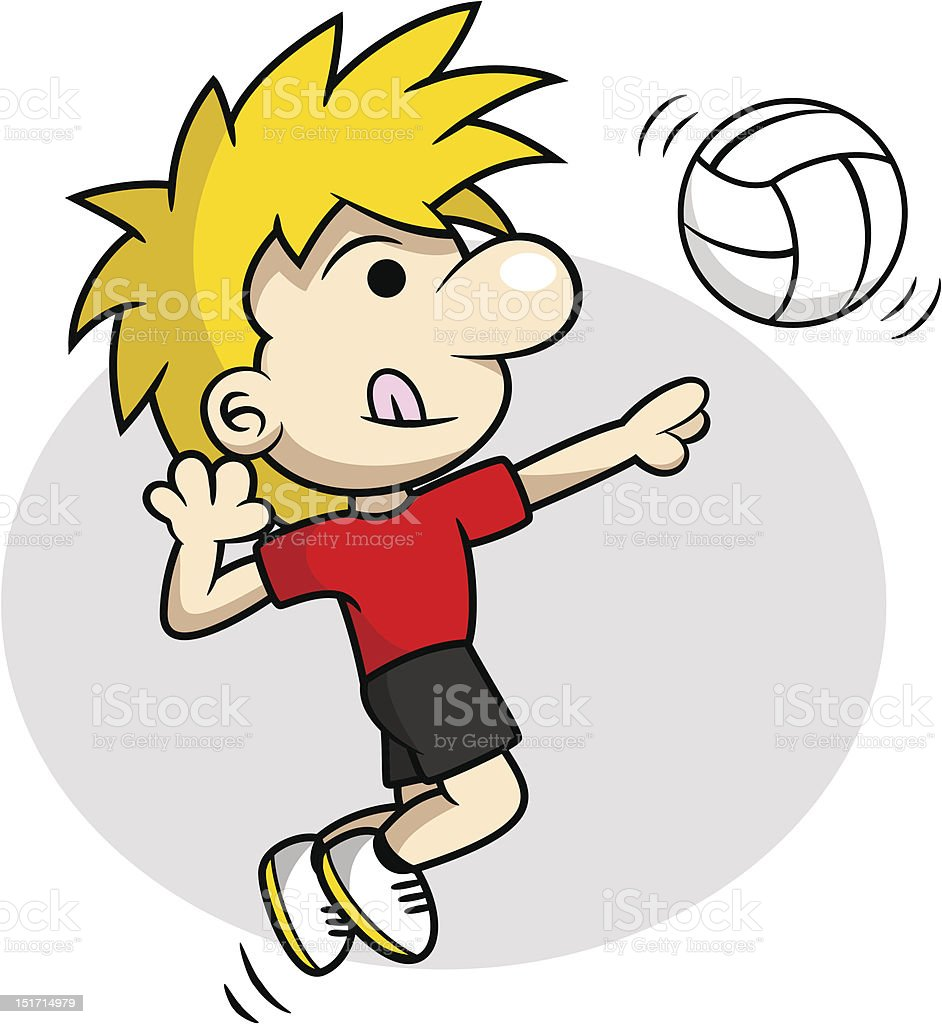 royalty free volleyball spike clip art vector images rh istockphoto com volleyball clipart free