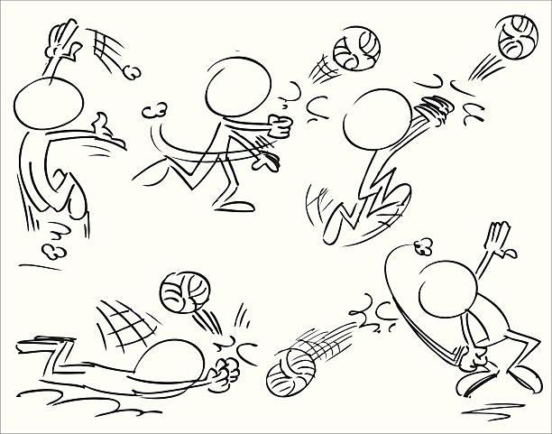 バレーボールスポーツ文字での是正活動 - バレーボール点のイラスト素材/クリップアート素材/マンガ素材/アイコン素材