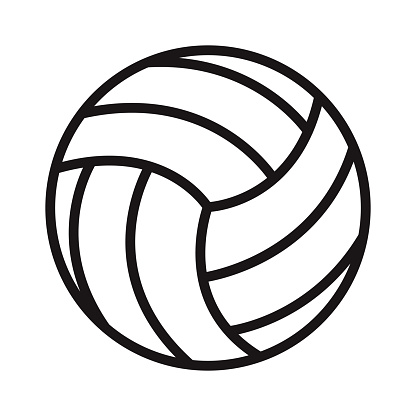 Volleyball Sports Glyph Icon