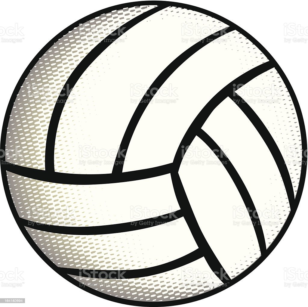 Volleyball royalty-free volleyball stock vector art & more images of adult