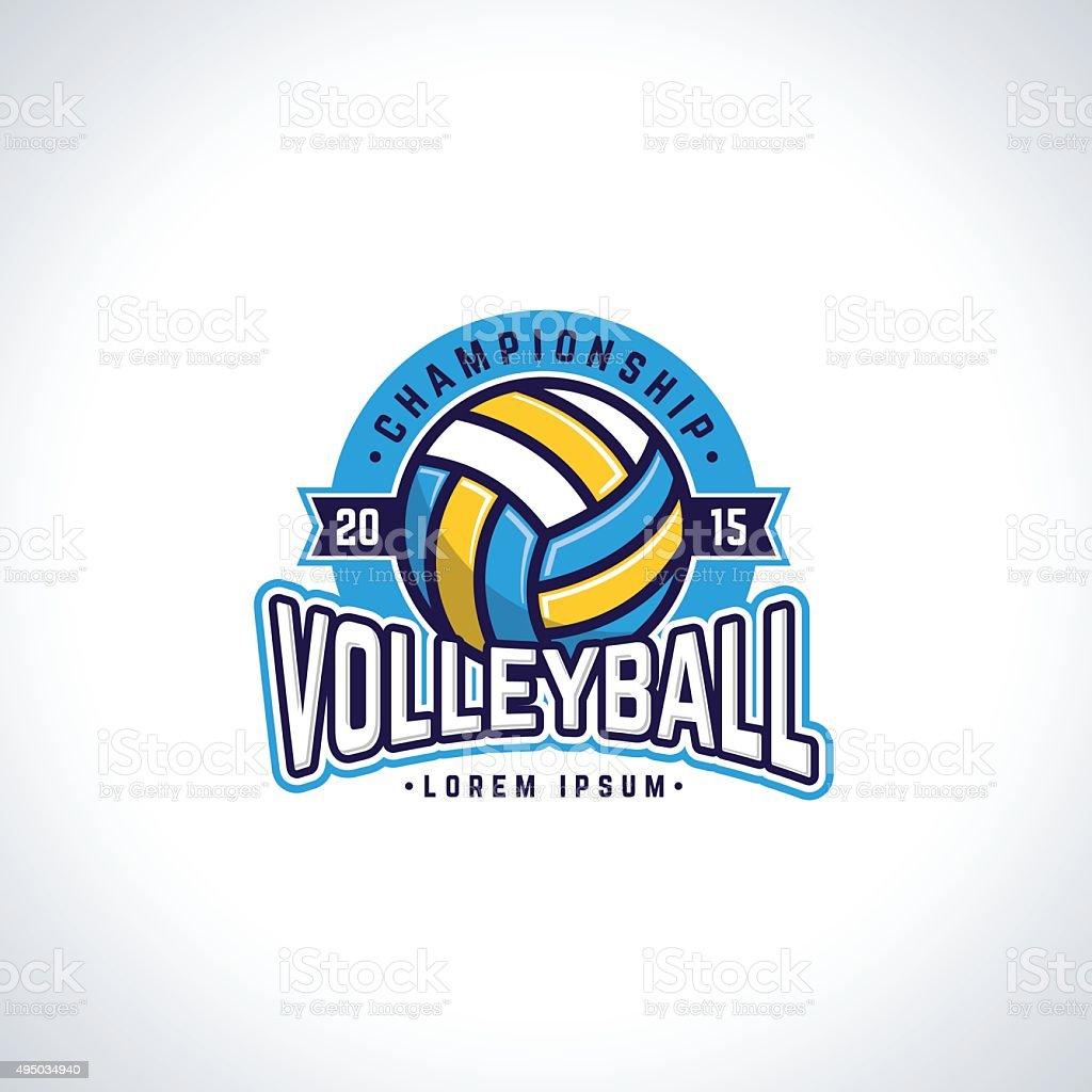 Volleyball – Vektorgrafik