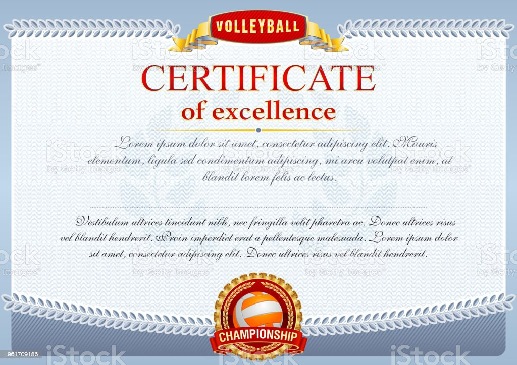 Volleyball Stock Vector Art & More Images of Award 961709186 | iStock