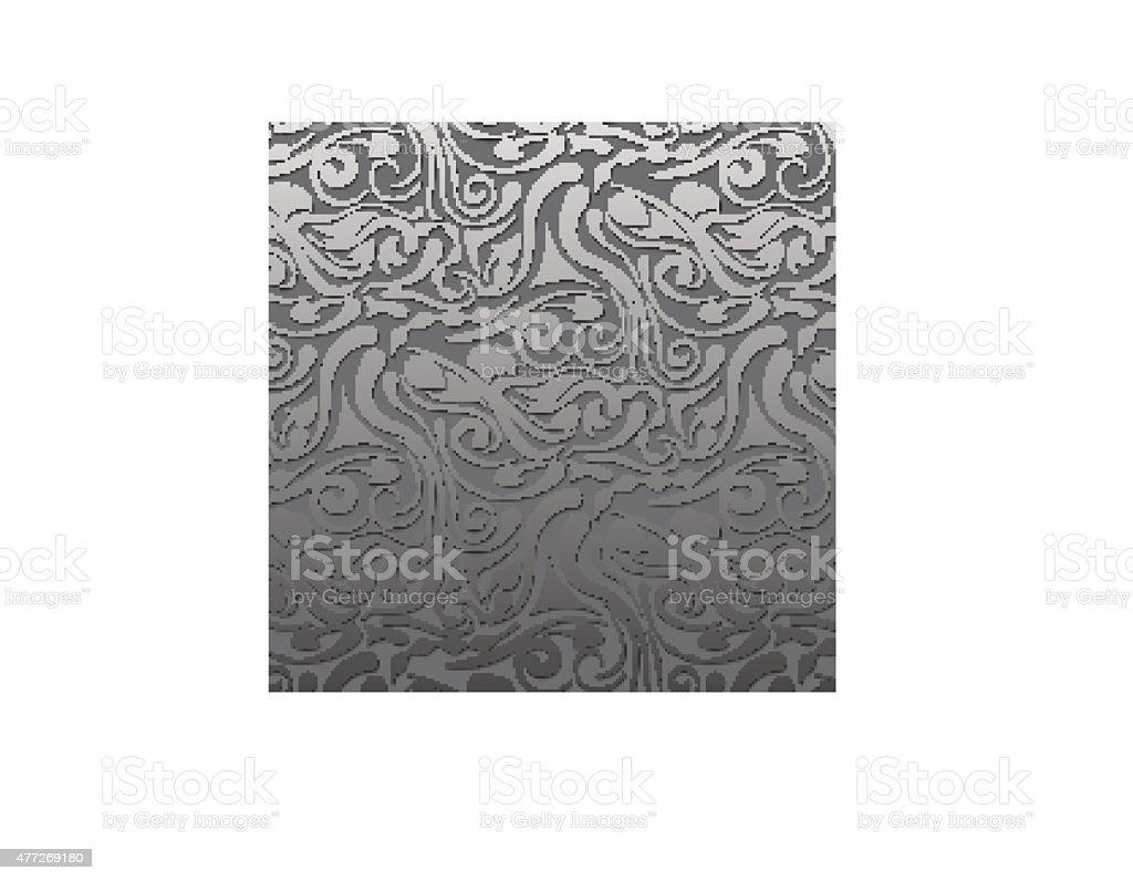volume gray vintage pattern vector art illustration