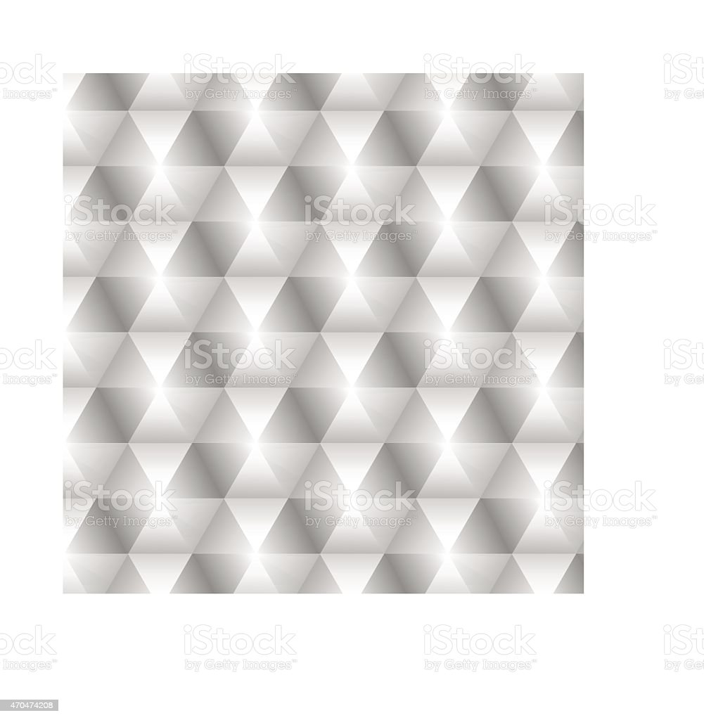 volume hexagons vector art illustration