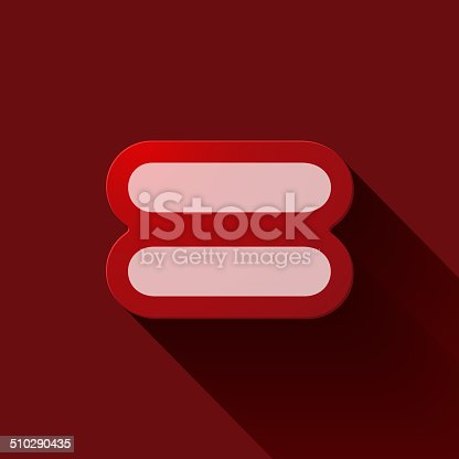 Volume Icons Symbol Equal Sign Stock Vector Art More Images Of