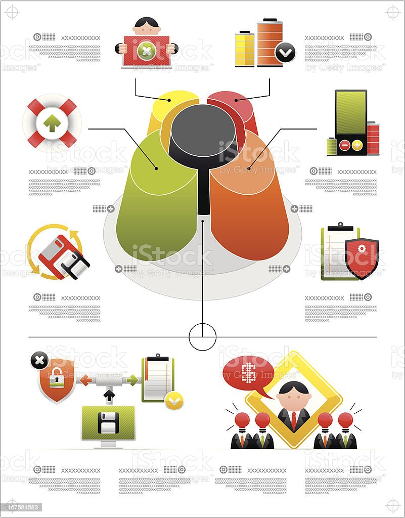 volume infographics and complex icons royalty-free volume infographics and complex icons stock vector art & more images of advice